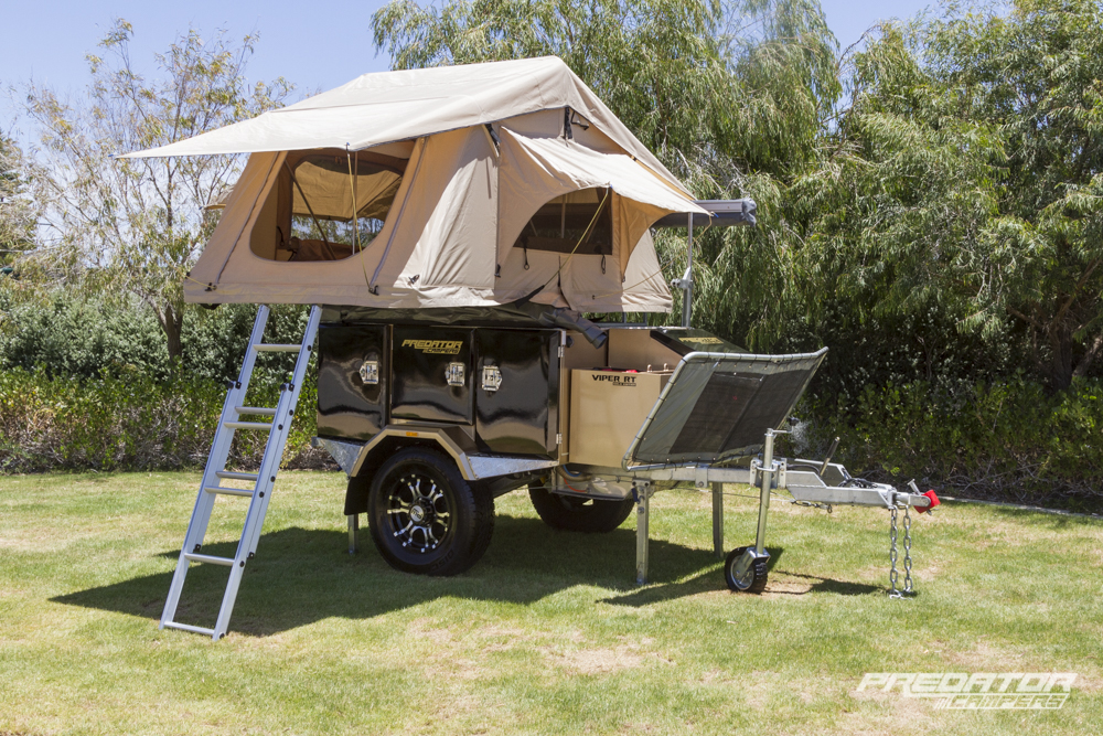 Roof Top Tents & Roof Top Tents - Predator Campers | Affordable Camper Trailers