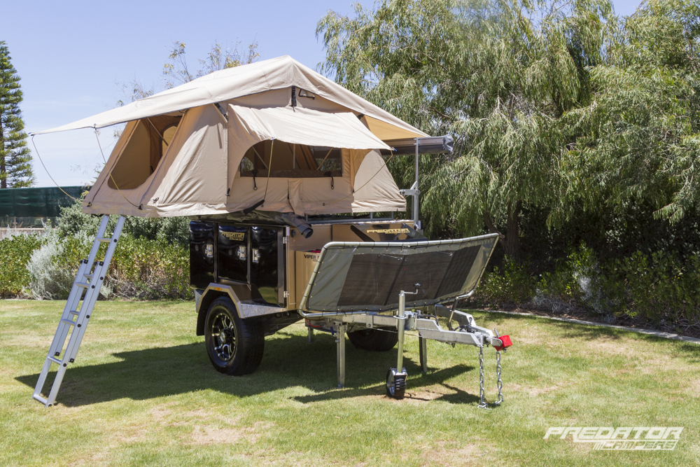 Luxury Roof Top Tents  Predator Campers  Affordable Camper Trailers